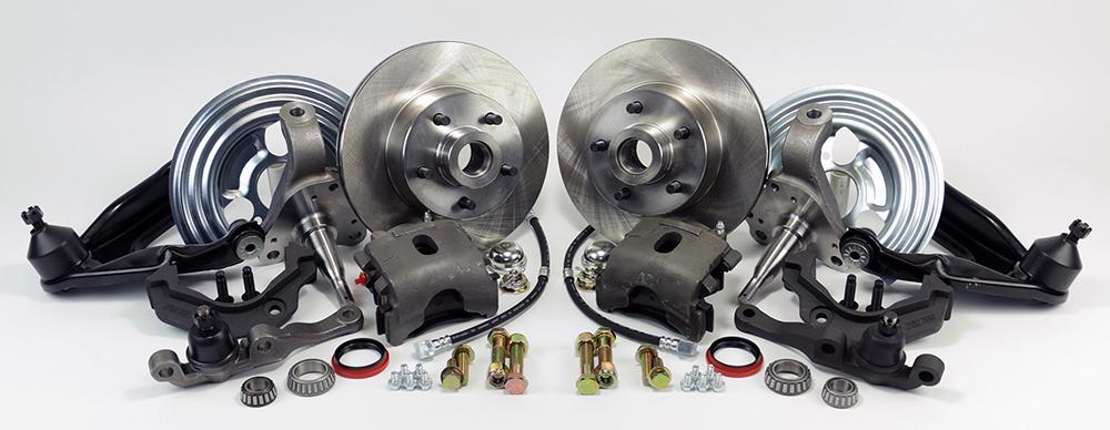 Front Disc Brake Conversion Kit - Legend Series