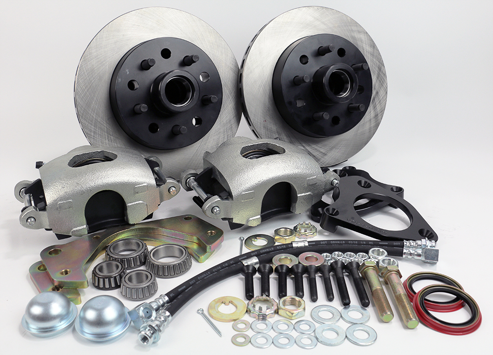 Front Disc Brake Conversion Kit - Legend Series Version 2 0